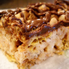 Butterfinger Chex Treats