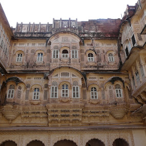 Castle; Rajasthan; India by Thakkar Mj - Buildings & Architecture Public & Historical ( history, ancient, rajasthan, india, castle,  )