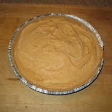 Freezer Pumpkin Pie With Gingersnap Crumb Crust