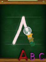 Screenshot of Tracing ABC: Letter Worksheets