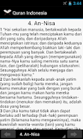Screenshot of Quran Indonesia