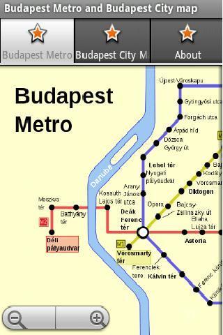 布达佩斯地铁运行图 布达佩斯地图
