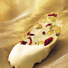 Holiday Biscotti with Cranberries and Pistachios