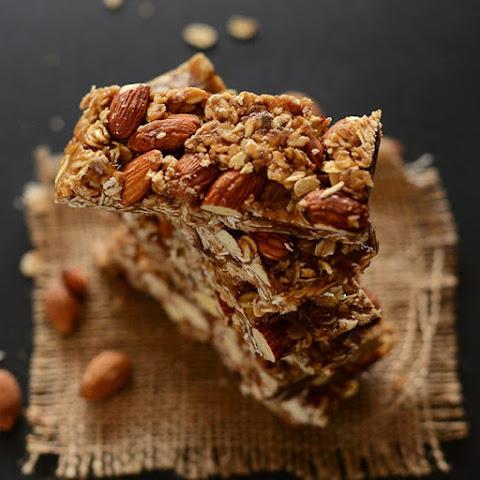 Healthy 5-Ingredient Granola Bars