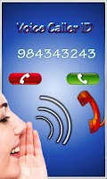 Screenshot of Voice Caller ID