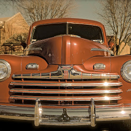 Copper Tone Tan by Roy Walter - Transportation Automobiles ( car, automobile, auto, transportation, ford )