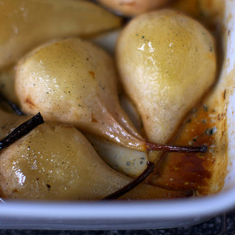 Vanilla Roasted Pears