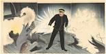RIJKS: Kobayashi Kiyochika, Matsuki Heikichi: print 1904