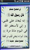 Screenshot of Forgiveness To Allah