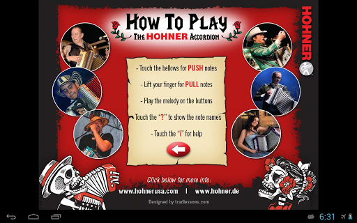 Hohner-GCF Button Accordion - screenshot