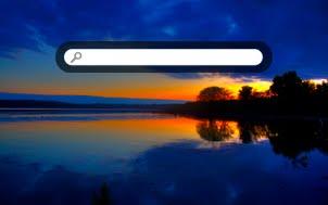symetrical sunset