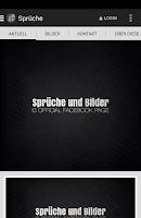 Screenshot of Sprüche und Bilder