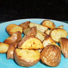 Garlic & Rosemary Baby Potatoes