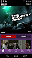 Screenshot of iFilmTV English