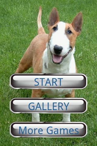犬のパズル:ブルテリア