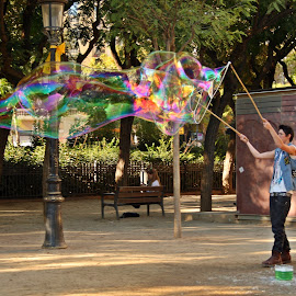 Playing... by Paulo Leitão - City,  Street & Park  Street Scenes (  )