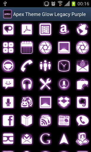 Apex Theme Glow Legacy Purple for PC