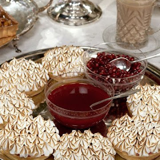 Red Currant and Lemon Tartlets