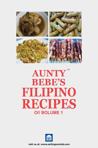 Aunty Bebes Filipino Recipes