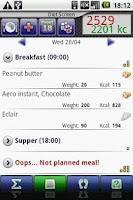 Screenshot of Diet Master