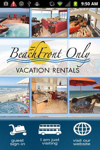Beachfront Only Rentals