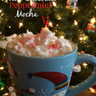 {copycat} White Chocolate Peppermint Mocha