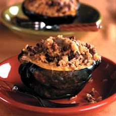 Sausage and Rice Stuffed Squash