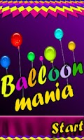 Screenshot of Balloon Mania