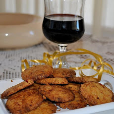 Savoury Red Wine Cookies