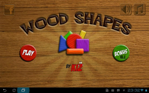 KIZ Wood Shapes