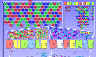 Screenshot of Bubblez HD: Bubble Defense