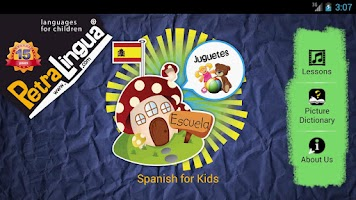 Screenshot of Spanish For Kids