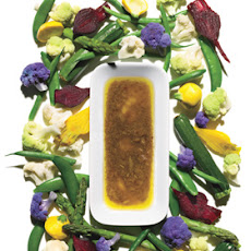 Bagna Cauda Dip with Assorted Vegetables