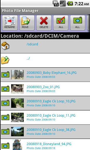 Photo File Manager