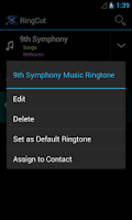 Screenshot of Ringcut - Ringtone Maker