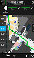 Screenshot of auナビウォーク -地図で音声案内や乗換ができるナビアプリ-