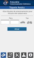 Screenshot of Araucária Estacionamento