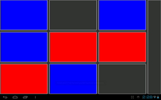 Screenshot of QML-Tic-Tac-Toe
