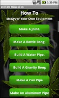 Screenshot of Stoner's Handbook L- Bud Guide