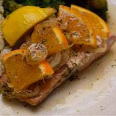 Orange Roasted Salmon