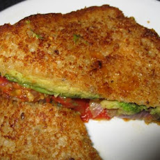 Grilled Cheese, Tomato & Avocado Sandwich