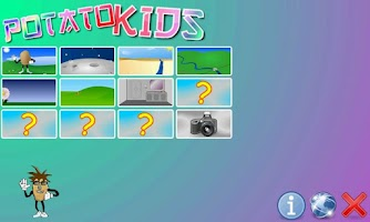 Screenshot of Potato Kids