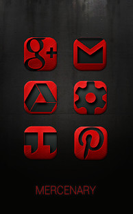 MERCENARY - Icon Pack- screenshot thumbnail