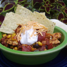 Mexican Rice Bowl With Chicken
