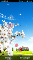 Screenshot of Spring Live Wallpaper
