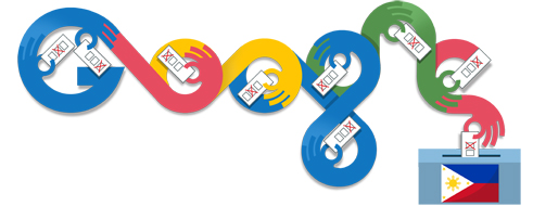 Google Doodle Philippines Elections 2013