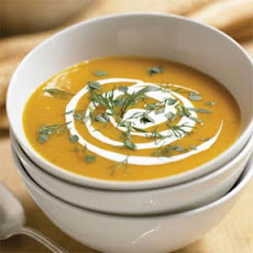 Herbed Carrot Soup