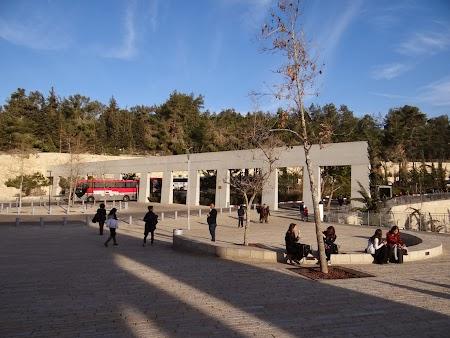 Imagini Israel: Muzeul Holocaustului - Ierusalimul de Vest