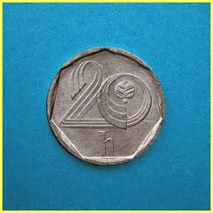 Chequia 0,20 Coronas Moneda