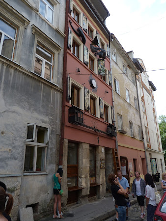 Restaurant Lviv: casa legendelor Lviv
